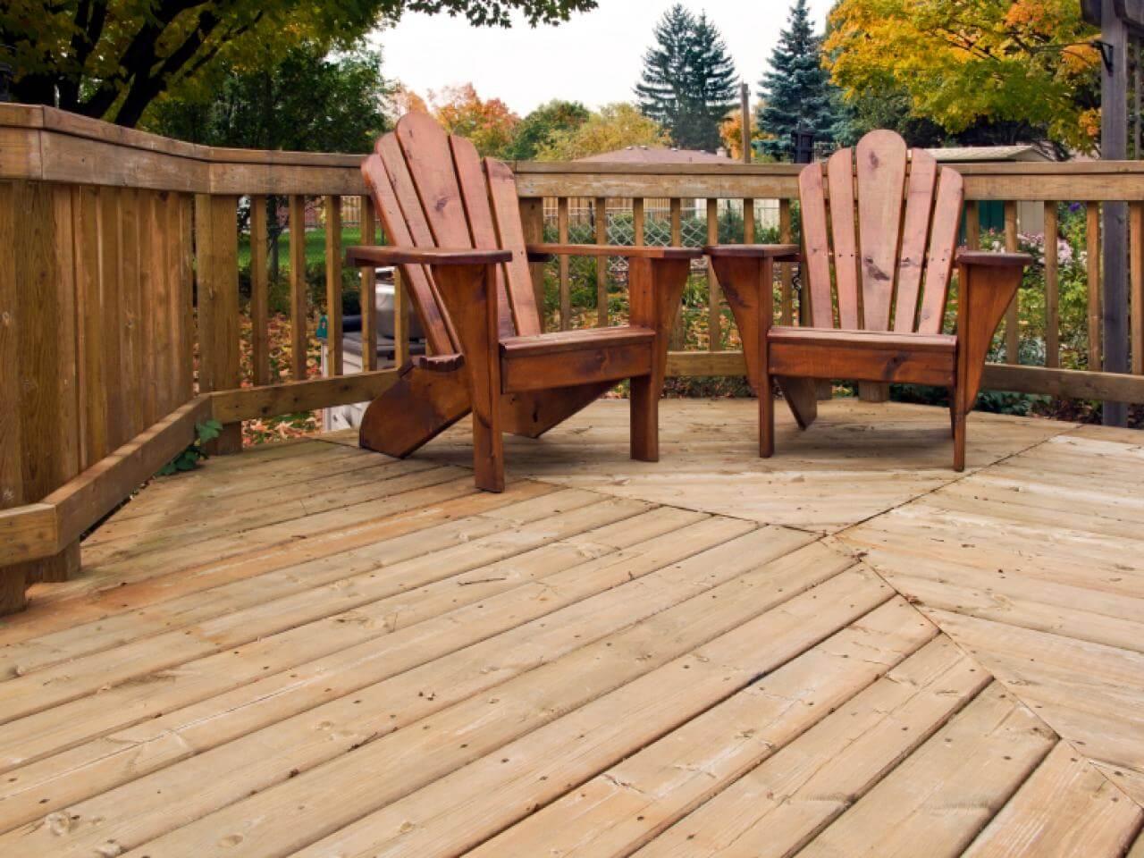 Hardwood decking contractors in Wylie